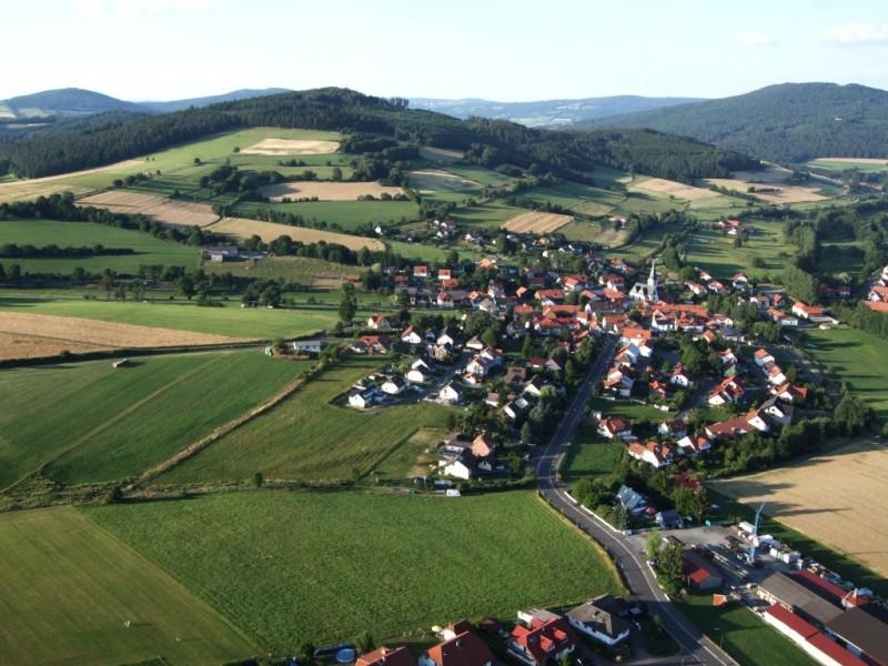Luftaufnahme-Eckweisbach
