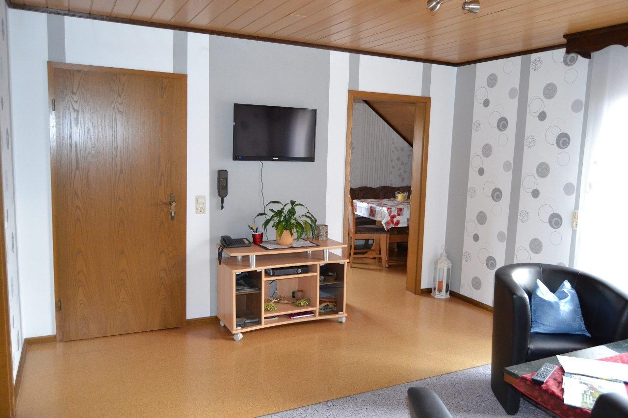 Große Fewo Wohnzimmer